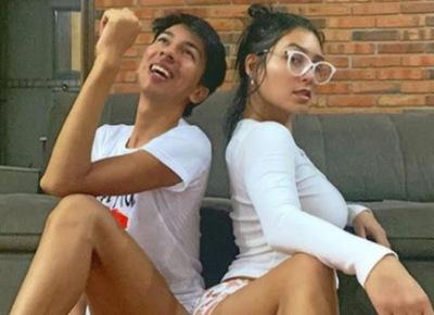 Video. Rajan a modelo y su amigo de condominio chuchi y mandan desinfectar la pileta donde se bañaron