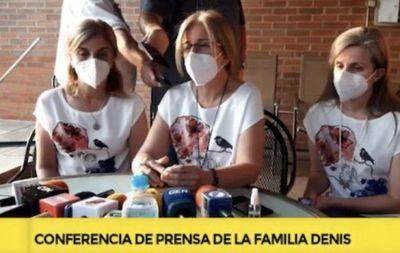 Hijas de Óscar Denis piden resultados al Gobierno, a 60 días del secuestro