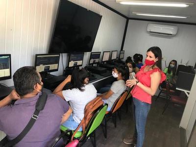 Pobladores de Puerto Pinasco cuentan desde hoy con internet gratuito
