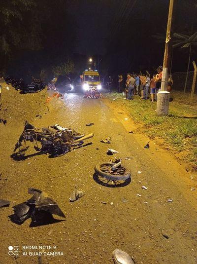 Tres fallecidos en Central: dos son motociclistas y uno murió calcinado en una vivienda