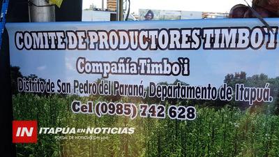 INVITAN A LA PRIMERA EDICIÓN DE LA FIESTA DE LA SANDÍA EN TIMBO'I SAN PEDRO DEL PNA