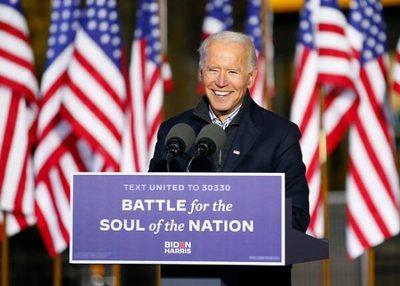 """Biden: """"Seré un presidente para todos los estadounidenses"""""""