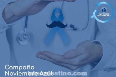 Universidad Sudamericana y la Campaña Noviembre Azul, el marco del mes de concienciación sobre el Cáncer de Próstata