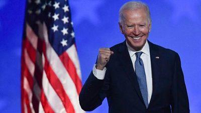 Joe Biden es el nuevo presidente de EE.UU.