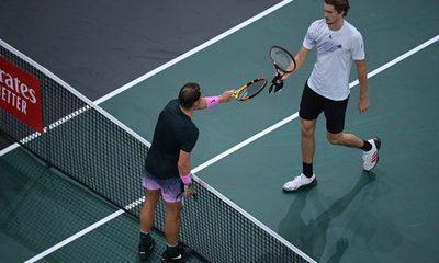 Nueva eliminación de Rafael Nadal en el Masters 1.000 de París
