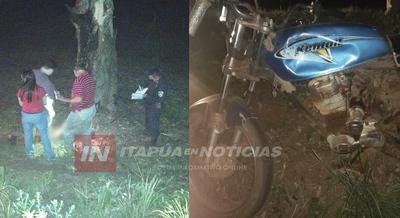CORONEL BOGADO: MOTOCICLISTA MUERE TRAS SER ARROLLADO Y ABANDONADO.