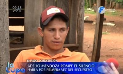 Adelio Mendoza pide trabajo para poder estudiar