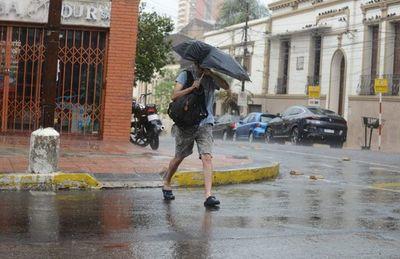 Lluvias importantes y ráfagas de hasta 100 km/h para mañana