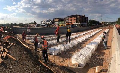 Obras del Multiviaducto de Cuidad de Este presentan un 71% de avance