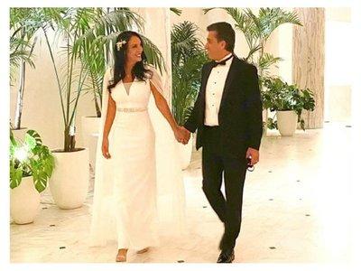 En medio de problemas judiciales Ayesa se casó