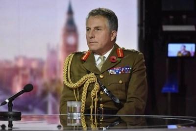 Una nueva guerra mundial es un peligro muy real, advierte jefe del Ejército Británico