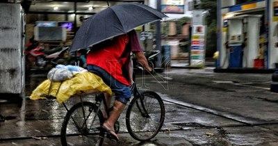 La Nación / Anuncian tiempo severo en casi todo el país para mañana lunes