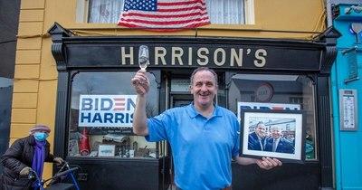 La Nación / Ballina, la localidad irlandesa de los antepasados de Biden, brinda por su triunfo