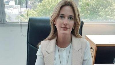 """María Fernanda Carrón: """"Para el año 2021 estimamos desembolsar aproximadamente US$ 308 millones en el sistema financiero"""""""