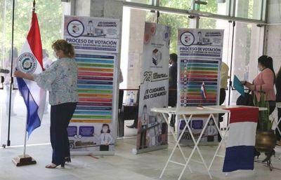 Urnas electrónicas para votación de abogados, desde hoy en el Palacio
