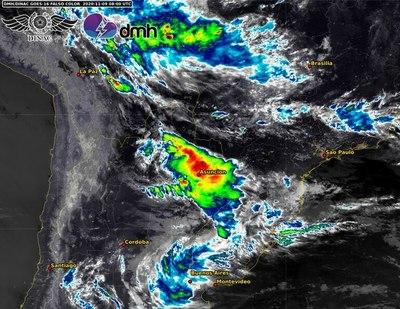 Lluvias y tormentas tienden a extenderse e intensificarse