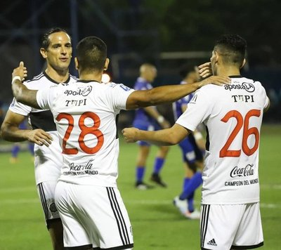 Olimpia venció 3-1 a Sol de América en el cierre de la fecha 4 del Clausura