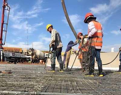 Multiviaducto: Concluye trabajo de relleno de uno de los pasos superiores