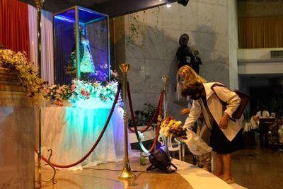 La Virgen de Caacupé está presente en Asunción