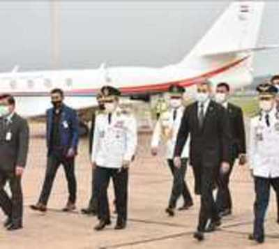 Abdo fue hasta Bolivia para la asunción de Luis Arce