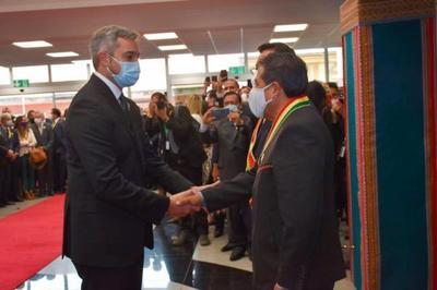 Tras su llegada de Bolivia, Abdo cumplirá cuarentena