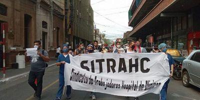 Trabajadores de blanco del Hospital de Clínicas anuncian huelga para el próximo 18 de noviembre