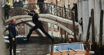 La Nación / De París a Venecia, el mundo sigue rodando películas... con mascarilla