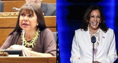 Crónica / Celeste Amarilla sueña con ser vicepresidenta como Kamala
