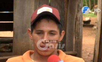 Adelio Mendoza pide un trabajo para estudiar y lamenta no recibir ayuda