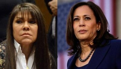 El delirio es contagioso en el efrainismo: Si Alegre quiere ser como Biden, Celeste Amarilla sueña con ser Kamala Harris