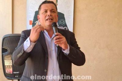 Candidato al Consejo de la Magistratura por Convergencia Lista C Juan Sosa Bareiro visitó Pedro Juan divulgando sus propuestas
