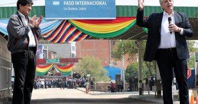 La Nación / Evo Morales regresó a Bolivia