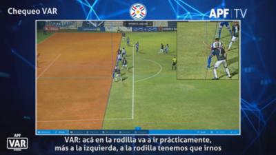 La revisión del VAR en el agónico gol de Salgueiro para San Lorenzo