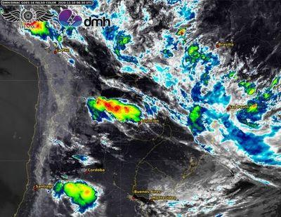 Más lluvias y tormentas durante este martes