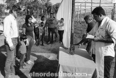 Egresado de Agronomía habilitó su propio sistema de producción hortícola por invernadero en una comunidad de Concepción