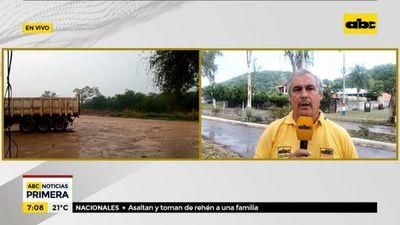 Escasas lluvias en el Alto Paraguay