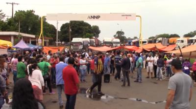 Trabajadores de frontera liberan una hora por día el acceso a ANNP en Itapúa