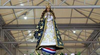 La Virgen de Caacupé iniciará peregrinación en enero, anuncian