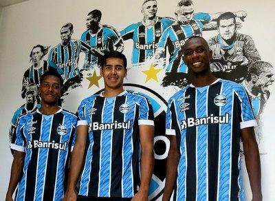 Grêmio apuesta por un joven delantero paraguayo del 3 de Febrero