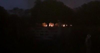 Inconciencia criminal en Choré: denuncian peligrosa quema irregular