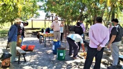 Agricultores reciben capacitación en producción y sanitación de semillas de papa