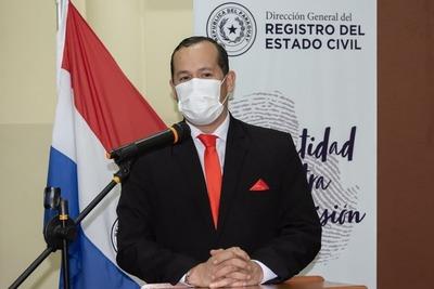 Asumió nuevo director del Registro del Estado Civil