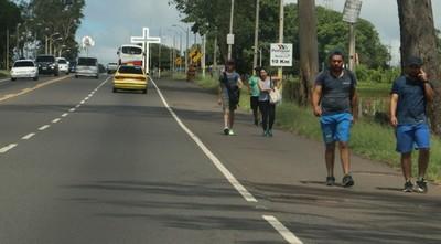 Endurecerán medidas en Caacupé por presencia de peregrinos