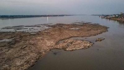 HOY / Persiste bajante del río y aún no hay condiciones para la navegabilidad