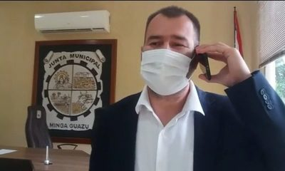 Opositor va a la presidencia de la Junta Municipal de Minga Guazú