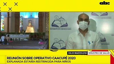 Restringirán acceso a la explanada de Caacupé