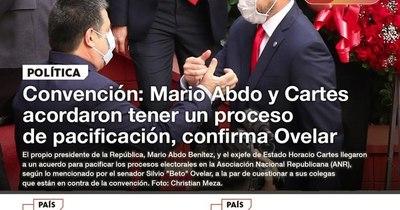 La Nación / LN PM: Las noticias más relevantes de la siesta del 10 de noviembre