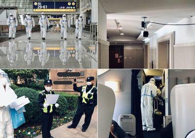 """""""Para alucinar"""": Así es el protocolo en aeropuertos y hoteles de China"""