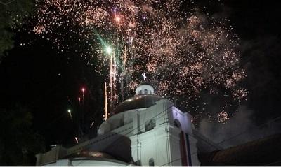 """Show de luces del 8 de diciembre no será con 1.000 kilos de pirotecnia, sino """"uno pequeñito"""""""