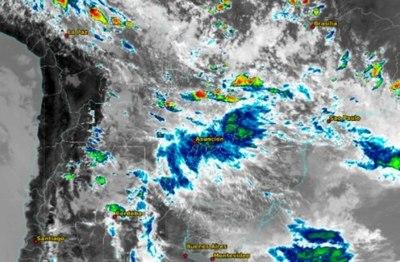 Seguirán las lluvias y se esperan tormentas eléctricas en cinco departamentos